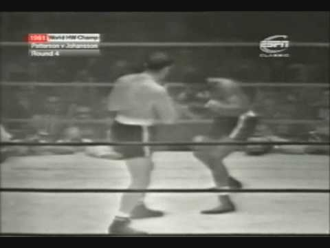 Floyd Patterson vs Ingemar Johansson III