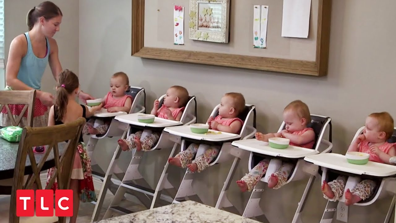 【5つ子 = 幸せも5倍】米国初の5つ子が誕生!   5つ子ベビー成長記 EP1