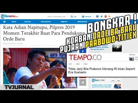 Bang Adian BONGKAR ! KORB(a)N Orde Baru Pujaan Prabowo-Titiek ? Wadaw ...