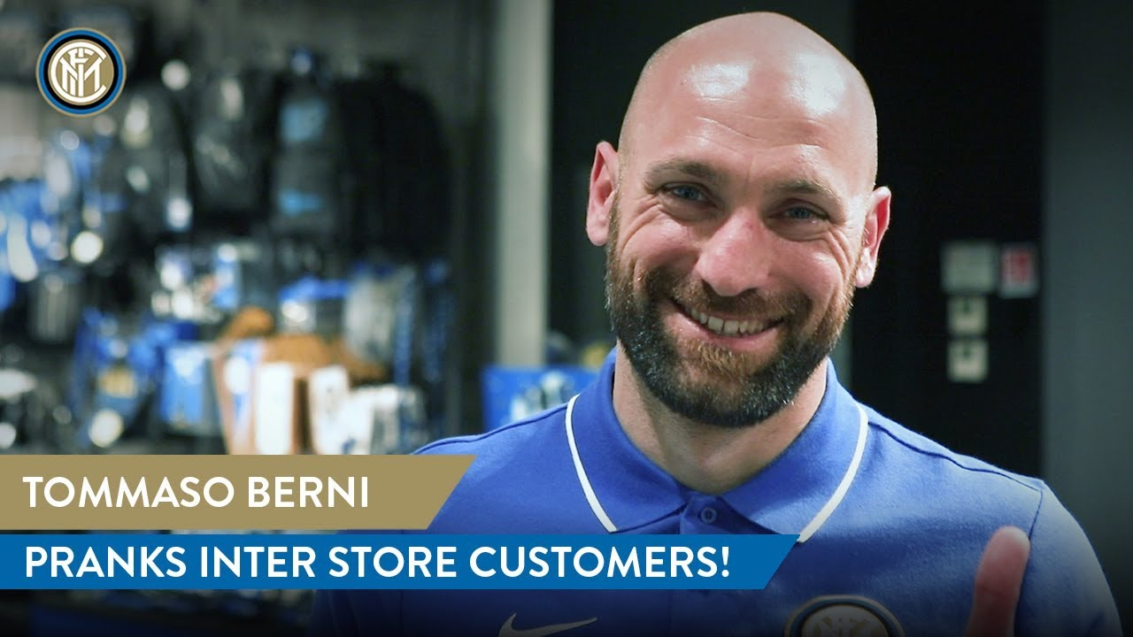 Tommaso Berni Pranks Inter Store Customers Youtube