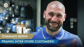Tommaso Berni Pranks Inter Store Customers!