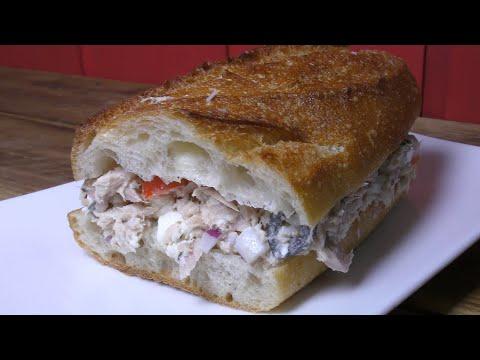 How To Make Mediterranean Tuna Salad Sandwich Recipe