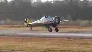 Mayocraft P26 Peashooter Flight 2 Landing