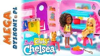 Barbie  Chelsea z przyczepą kempingową  FXG90 • MegaDyskont