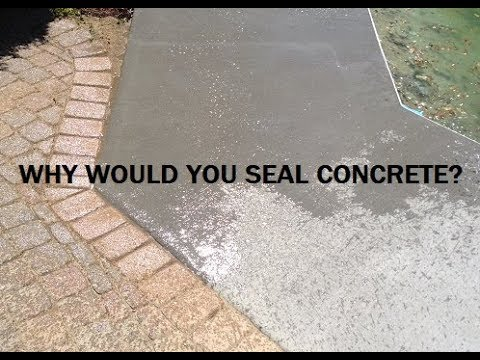 Why would you seal a concrete floor?