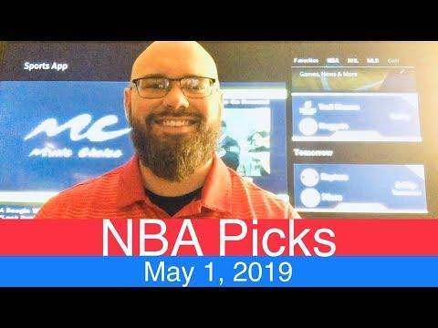 NBA Picks (5-1-19) | Playoffs Basketball Sports Betting Predictions | Daily Line News | May 1, 2019