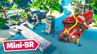 *NEW* 16 Player MINI BATTLE ROYALE Warzone Map In Fortnite!