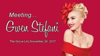 TTL Nerd   Meeting Gwen Stefani at The Grove LA