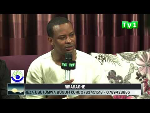 Live talk show on nutrition with Tom Close Rwanda's Musician