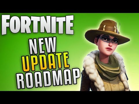 "Fortnite Save The World Update 4.3 Roadmap ""Fortnite New Mythic Hero"" Fortnite New Update Info!"