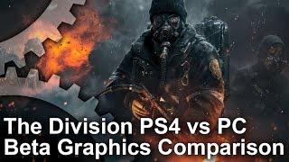 The Division Beta PS4 vs PC Ultra Graphics Comparison