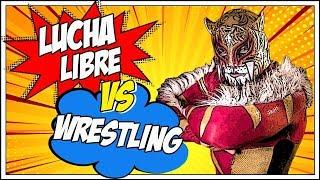 LUCHA LIBRE vs WRESTLING | PUMA KING & BARBY
