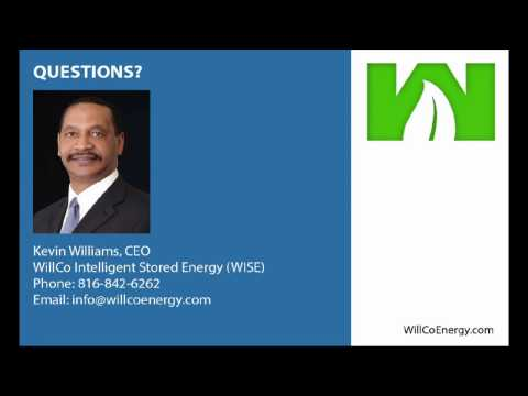 WillCo Intelligent Stored Energy (WISE) Presentation at 1 Million Cups Kansas City