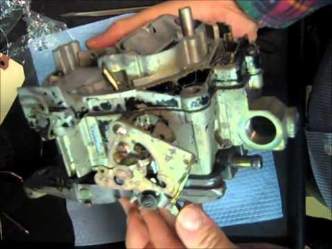 Rochester Quadrajet Marine Carburetor Rebuild - Part 3 of 3