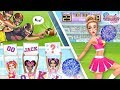 Cheerleader Fashion, Makeup & Dance! Hannah's Cheerleader Girls | TutoTOONS Cartoons & Teen Games