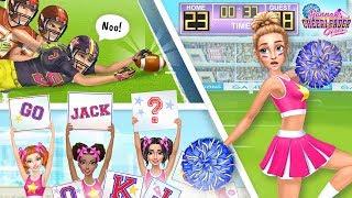Cheerleader Fashion, Makeup & Dance! Hannah's Cheerleader Girls | TutoTOONS Cartoons & Teen Games