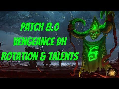 🎃WoW BfA Demon Hunter 🎃 Vengeance Guide 🎃 Rotation & Talents 🎃 8 0 1🎃
