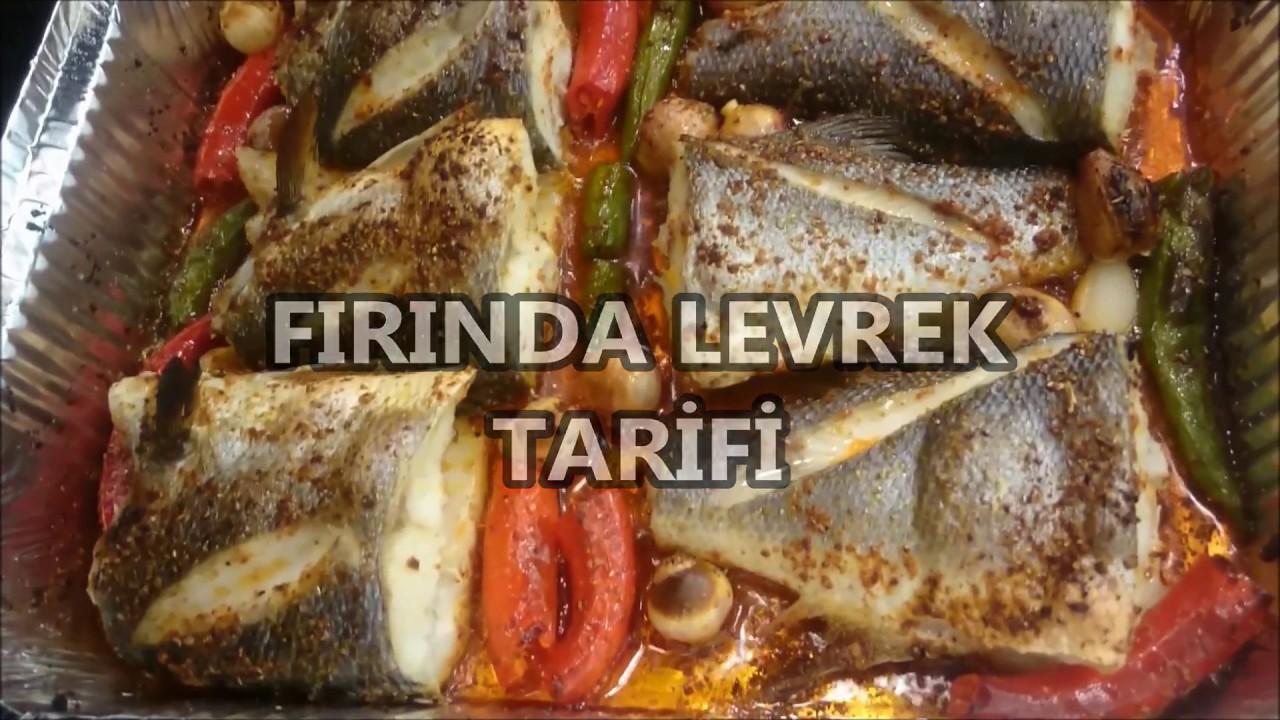 Fırında Levrek Nasıl Pişirilir Videosu