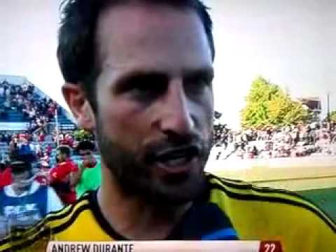 Andrew Durante post-match interview Wellington Phoenix vs Adelaide United 27/10/2012