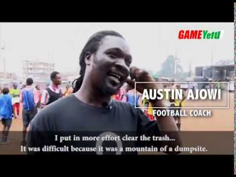 From a dumpsite to a football pitch: The story of Austin Ajowi and Futbol Mas