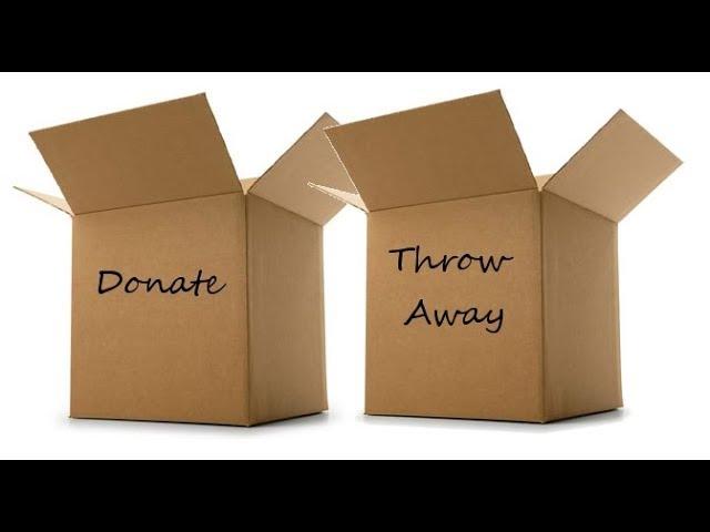 ADHD Clutter Tip: Letting Things Go