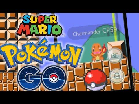 Super Mario plays Pokemon Go!