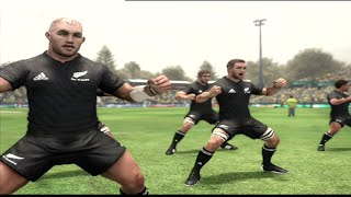Jonah Lomu Rugby Challenge 2: Australia vs NEw Zealand on PS3