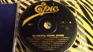 The Essential Michael Jackson CD Unboxing
