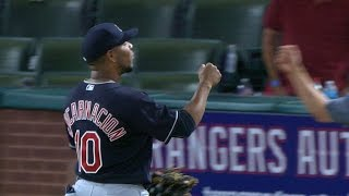 4/3/17: Indians best Rangers behind 9th-inning rally