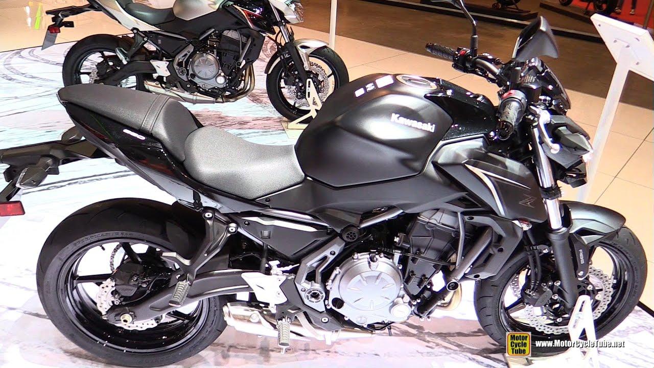 2017 Kawasaki Z650 Black