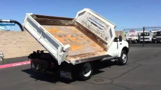 2003 Ford F450 3.5 Yard Dump Truck
