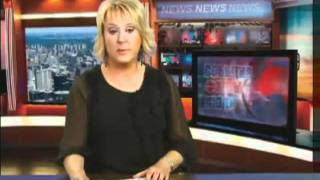Russian news reporter can't stop laughing (with English subtitles)