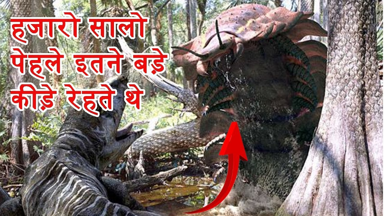 Hindi | Insect that lived Millions of Years Ago | Prehistoric Insects | JustGyan