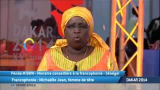 Dakar 2014: Michaëlle Jean, femme de tête