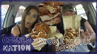 We try Chick-Fil-A's Double Double Down | COMBOnation