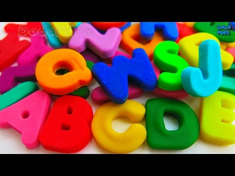 Learn Colors with Play Doh Learn the ABC 26 Letters from A to ZABC alphabet songABC song A to Z