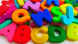 Learn Colors with Play Doh |Learn the ABC 26 Letters from A to Z|ABC alphabet song|ABC song| A to Z
