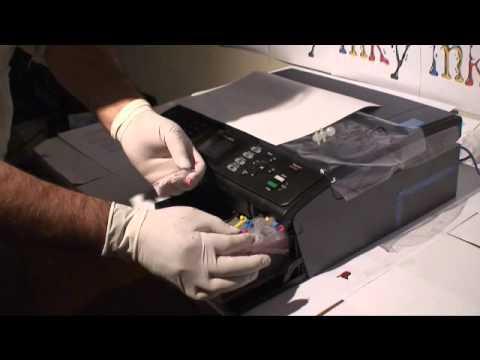 video tutorial de cartuchos rellenables para brother lc51 lc61 lc75 rh youtube com manual de impresora brother dcp-j140w guia de usuario impresora brother dcp-j140w