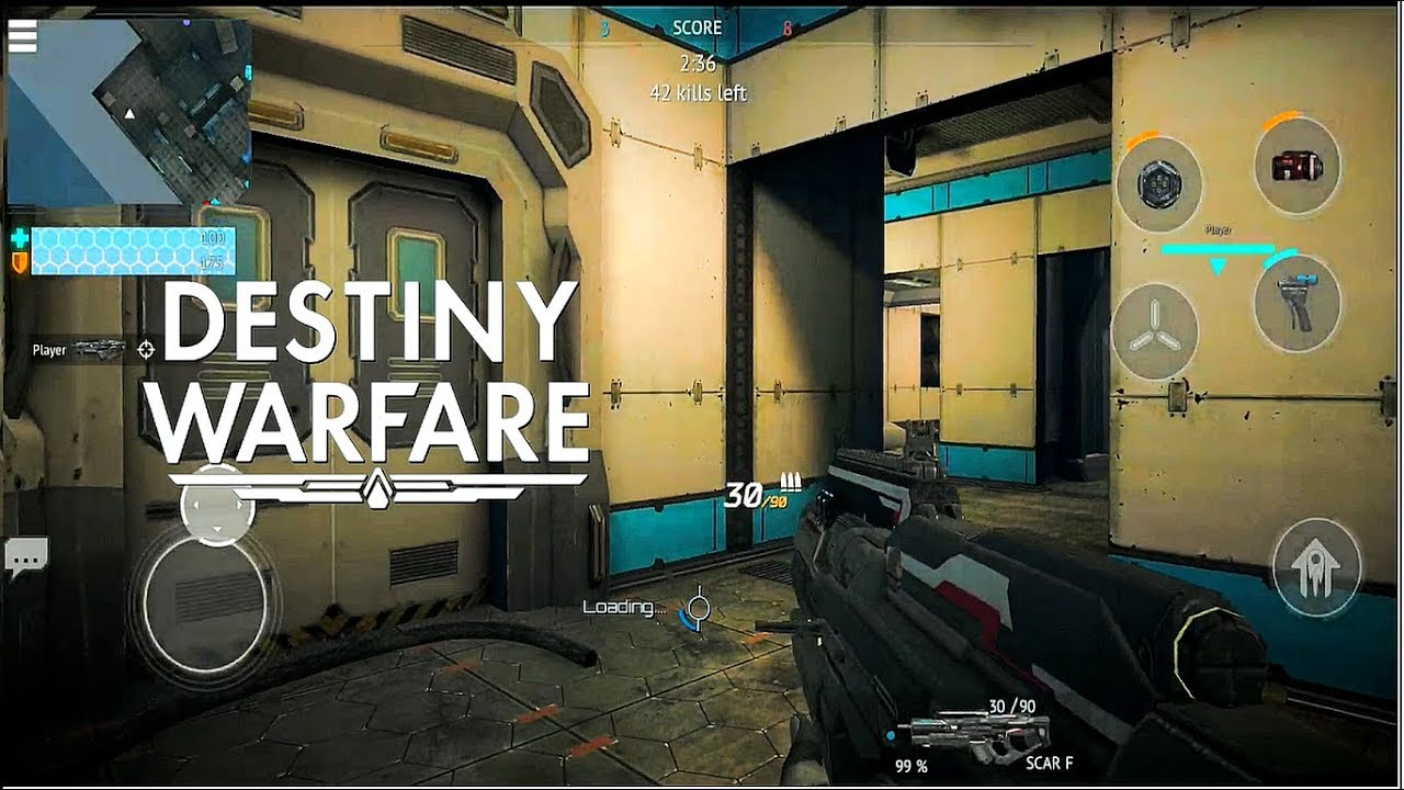 SCI-FI FPS GAMEPLAY(Android) 2018