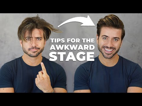 How To Get Through The Awkward Stage | Men's Hairstyle 2020 | Alex Costa