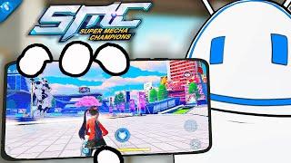 EL NUEVO BATTLE ROYALE DE NETEASE Y T ENE ROBOTS 7u7   Super Mecha Champions  Yes Droid