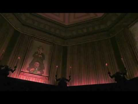 The un-stretching Stretching Room •  Haunted Mansion