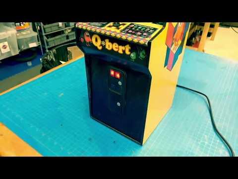 QBert Mini Arcade Making-of