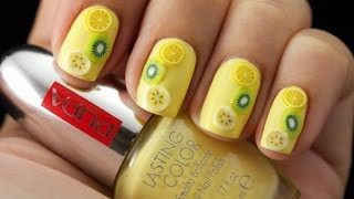 Come applicare i nuovi decori per unghie #NailArt Kit Juicy Fruits | Trendynail per PUPA