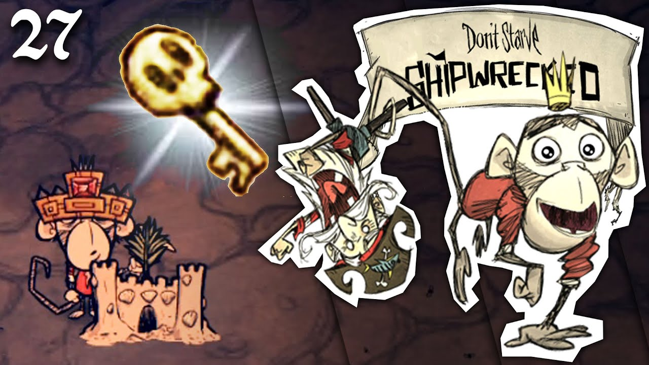 Однорукий Бандит Вулкан | Don't Starve Shipwrecked - в Поисках Woodlegs