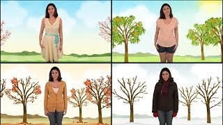 Let's Learn About the Four Seasons - Spring, Summer, Fall, and Winter - Science for Kids