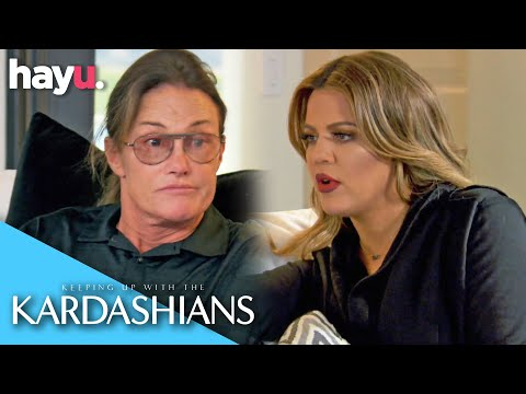 Caitlyn Jenner Apologies To Khloé Kardashian | Keeping Up With The Kardashians
