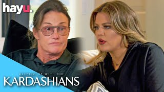 Caitlyn Jenner Apologies To Khloe Kardashian | Keeping Up With The Kardashians