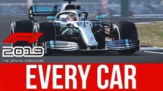 NEW F1 2019 Screenshots - Every Car Model & F1 2018 Comparison Screenshots
