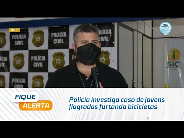 Polícia investiga caso de jovens flagrados furtando bicicletas em edifício, na Jatiúca